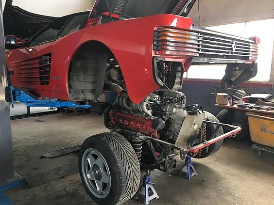 Réparateur Ferrari dans le 77