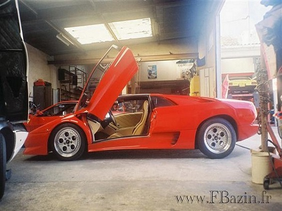 réparateur Lamborghini Frédéric BAZIN dans le 77